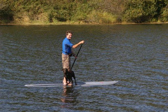 Nestuuca paddleboarder